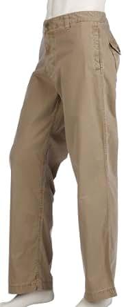 "Timberland Mens Overdyed Chino Pant -32"" Leg - Light Brown - 28"