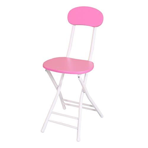 Folding chair Tabouret - Chaise Pliante, dînette de ménage, Chaise/Tabouret de Bar Portable Tabouret Hauteur 44cm (Couleur : A)