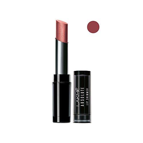 Lakme Absolute Illuminating Lip Shimmer, Burgundy Beam, 3.6g