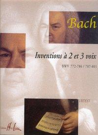 Inventions 2 et 3 voix par Johann-Sebastian Bach