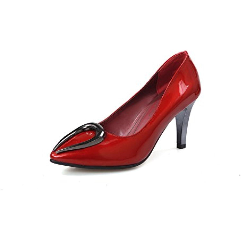 BalaMasa Escarpins B01ISHJELC pour Femme Rouge, 42 EU, APL05489 - B01ISHJELC Escarpins - 77a742