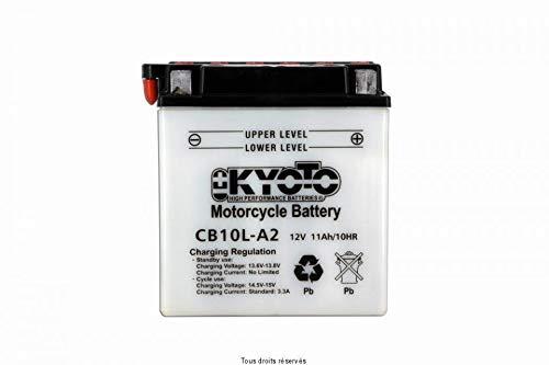 KYOTO Batterie Moto Yb10l-a2 L 136mm W 91mm H 146mm 12v 11ah Acide 0,78l