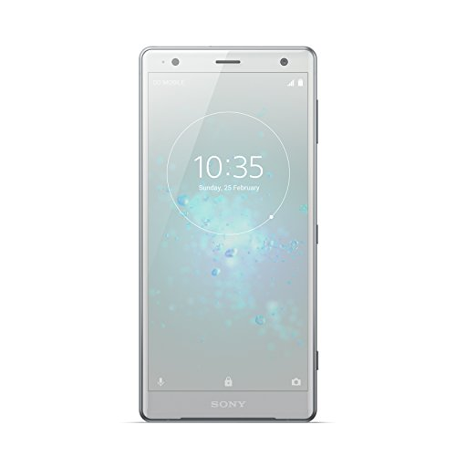 "Sony Xperia XZ2 Smartphone, Display 5.7"", 64 GB, Processore Qualcomm Snapdragon 845 Mobile, Mono Sim, Bianco/Argento [Italia]"
