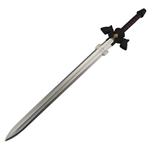 Links Master Schwert als Polsterwaffe aus Zelda, schwarz (Zelda Kostüm Skyward Sword)