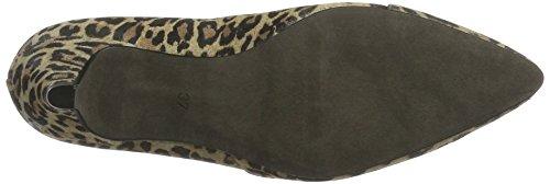 Mentor - W7571, Scarpe col tacco Donna Mehrfarbig (Leopard)