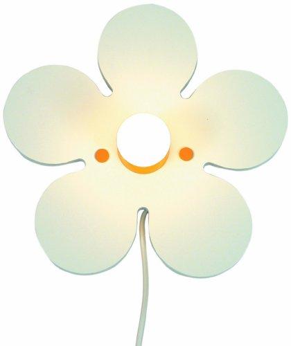 Niermann Standby Wandleuchte Happy-Flower, weiß 652