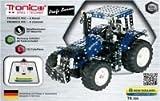 RC Metallbaukasten, NEW HOLLAND T8.390,Traktor, ferngesteuert, 732 Teile, Tronico, Baukasten inklusive Werkzeug, Metallbaukasten mit Motor
