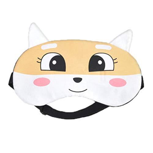 Cartoon Niedlichen Schlaf-schattierung Augenmaske Männlich Und Weiblich Atmungsaktiven Eisbeutel Heiß Und Kalt Doppel Auftragen Schlaf-lunch-maske 20 * 10cm 9