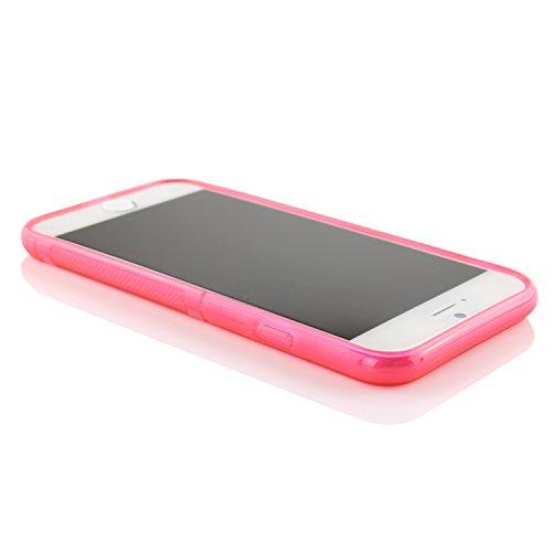 Original Urcover® iPhone 6 s Hülle aus TPU im S-Line Design [deutscher Fachhandel] Lila Pink