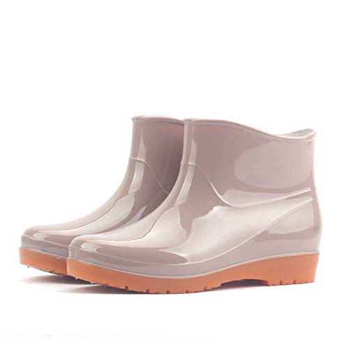 Gbadai Rain boots-Multi-color optional waterproof rubber shoes women