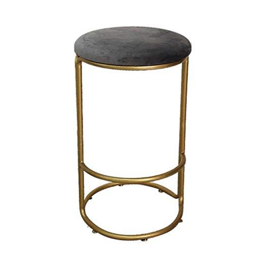Bar-stuhl-seat-kissen (ABARB Runder Esszimmerstuhl Barhocker mit samtweichen Kissen.3 Tisch Höhe Bar Stühle, Home Küche Esszimmer Möbel Modern American Style Luxury Style Mobilier de loisirs Accueil)