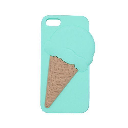 Back Case 3D Glace Crème Glacée 2 Étui cover Étui de protection pour Apple iPhone 6 4,7 Apple iPhone 6S