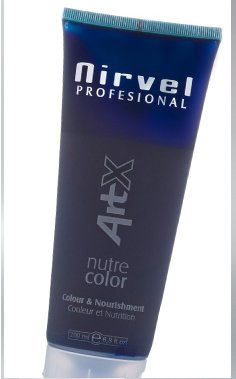 Nirvel NUTRE COLOR Azul 200 mL Mascarilla Profesional - Coloración temporal - Nutrición y brillo