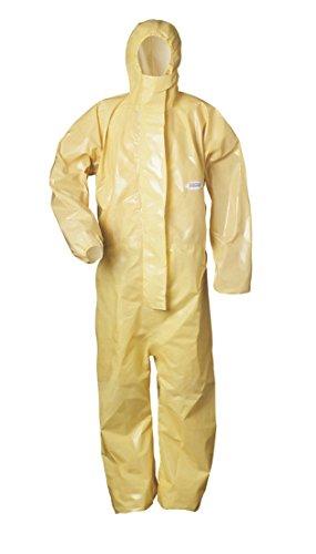 Preisvergleich Produktbild Chemieschutz-Overall - Kat.3 Typ 3-6 - gelb - Größe: L