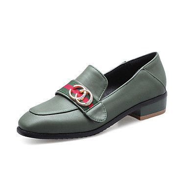 Confortevole ed elegante piatto scarpe donna Appartamenti Primavera Estate Autunno altre suole luce similpelle Matrimoni Ufficio Outdoor & Carriera Party & sera abito atletico Casual Black