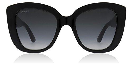 Gucci gg0327s 001 black black grey nero nero grigio