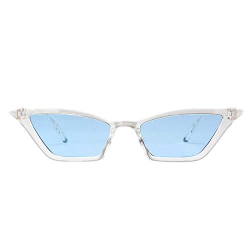OULN1Y Sport Sonnenbrillen,Vintage Sonnenbrillen,Sunglasses Women Retro Colorful Transparent Colorful Fashion Cateye Sun Glasses Men Uv400
