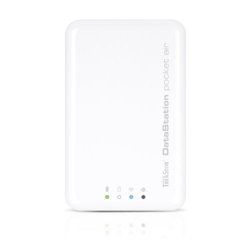 TrekStor DataStation pocket air WLAN Netzwerkfestplatte 500GB (6,3 cm (2,5 Zoll), USB 3.0) mit Power-Bank-Funktion