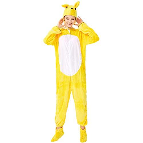 Sie Eine Kostüm Zombie Cheerleader Machen - JIAMENG-Halloween Cosplay Kostüm, Erwachsene Unisex Jumpsuits, Kostüm Nachthemd Schlafanzug Kapuzenpullover Nachtwäsche Cosplay Kigurum Fastnachtskostuem Xmas