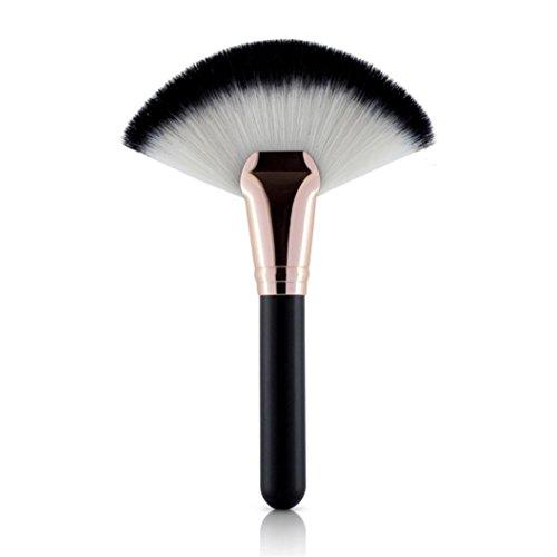 Brosse Pinceau LUBITY 1 PC Maquillage Fan Forme Pro Cosmétique Visage Poudre Brosse Mélange Contour Contour (B)