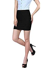 Stars and You Formal Mini Pencil Skirt with Elastic Waist Band