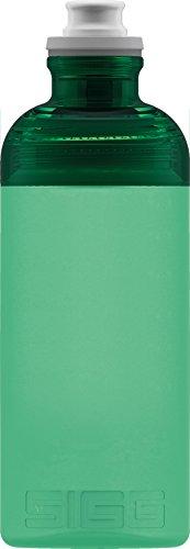 Sigg Hero Green, Sport Trinkflasche, 0.5 L, Squeezable, Polypropylen, BPA frei, Grün