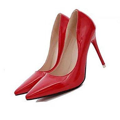 Moda Donna Sandali Sexy donna caduta tacchi tacchi PU Casual Stiletto Heel altri nero / verde / rosa / rosso / bianco altri Green