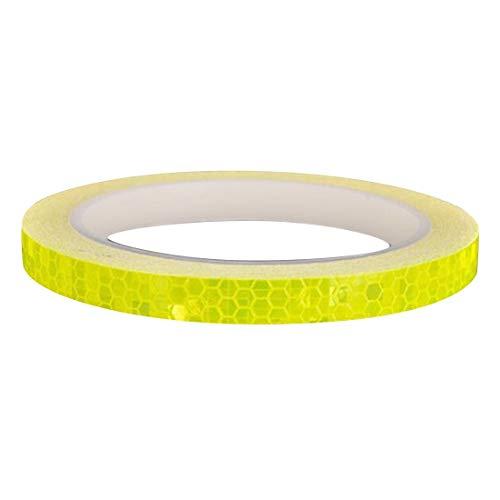 Tonewan Wasserdichte Fluoreszierende Radfahren MTB Reflektierende Fahrrad Aufkleber Streifen Aufkleber Band Sicherheit Motorrad Aufkleber Fahrrad Zubehör -