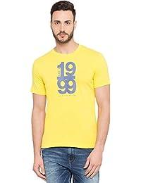 Globus Printed Round Neck T-Shirt