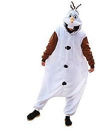 98 104 110 116 122 128 Disney Frozen Olaf Kostüm Overall Anzug Onesie Gr