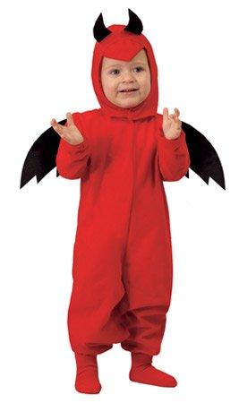 Guirca-81099 costume diavoletto per neonati, colore rosso, 81099