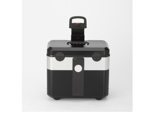 PARAT 2.012.530.981 Evolution Werkzeugkoffer mit genähten Einsteckfächern schwarz/silber (Ohne Inhalt) - 7