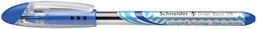 Schneider Slider XB Kugelschreiber (Soft-Grip-Zone) 10er Packung blau