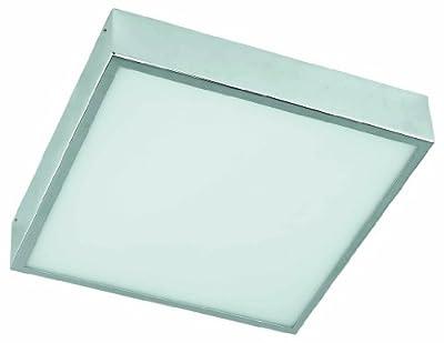 Leuchtstarke Decken-Badleuchte aus Chrom Badlampe Deckeneuchte Badezimmerleuchte Spritzschutz IP44 5845