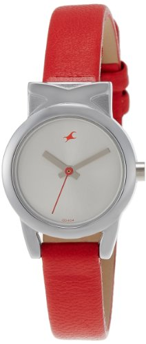 Fastrack Fits and Forms Analog Silver Dial Women's Watch - 6088SL02 image
