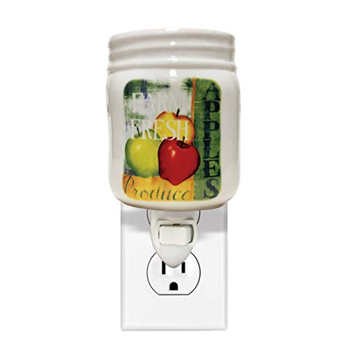 A Cheerful Giver Farm Fresh Apples Plug-In Wax Melter, Multi