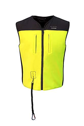 Bering Airbag Weste C-Protect Air Black Neon Größe S/M/L (Markt-ski-jacke)
