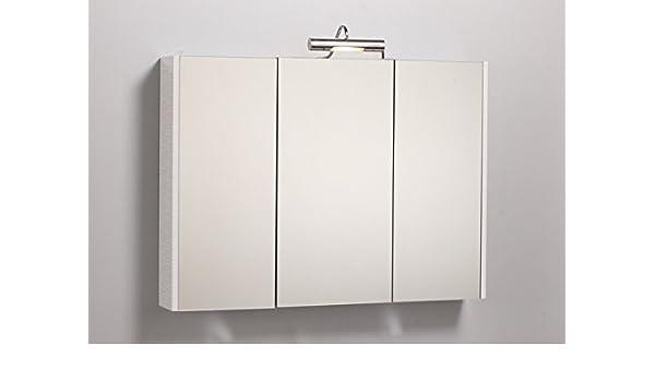 Specchiera specchio contenitore da bagno da 77x65hx25 con ante