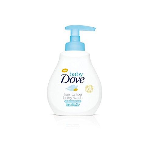 Baby Dove Rich Moisture Hair to Toe Baby Wash (200ml)