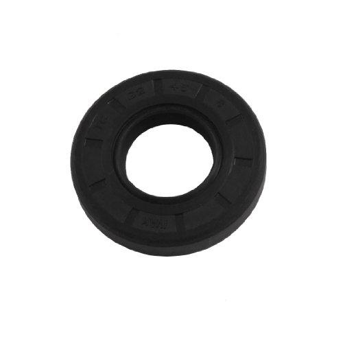 uxcell 22mm x 45mm x 8mm schwarz Nitrilkautschuk Doppel Lip Oil Schaft TC Dichtung Dachrinne Handschuh