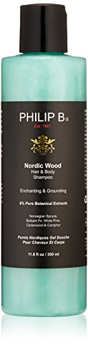 Philip B Nordic Wood Hair und Body Shampoo, 350 ml