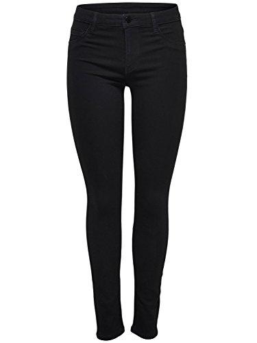 JACQUELINE de YONG JdY Ladies Classic Black Stretch Denim Five Pocket Essential Skinny Jeans