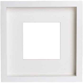 IKEA Ribba Frame, Polyester, White, 23 x 23 x 5 cm: Amazon.co.uk ...