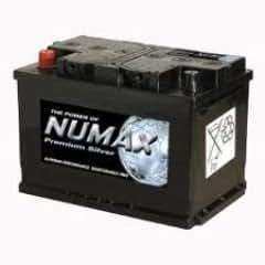 Numax Premium Batterie voiture Argenté (mf78dt-630)