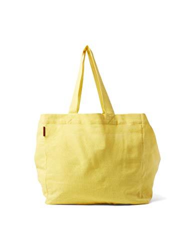 en Taschen & Geldbörsen Leinen Shopper Helena gelb/yellow, OneSize ()