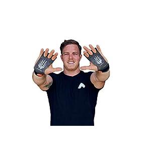 Bear KompleX 3-Loch Carbon Hand Grips für Gymnastik, Crossfit, Klimmzüge & Gewichtheben – Pull Up Grips für mehr Komfort & perfekten Halt – idealer Handschutz vor Rissen & Blasen – Damen & Herren