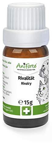 AniForte Rivalität Globuli für Hunde, Katzen, Haustiere - Bachblüten zur Beruhigung, Natürliches...