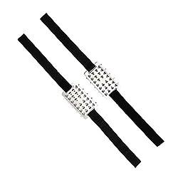 perfeclan 2pcs Stahl Schuhspikes Schuhkrallen Baumsteigeisen Steigeisen f/ür Baumklettern Oder Baumpflege