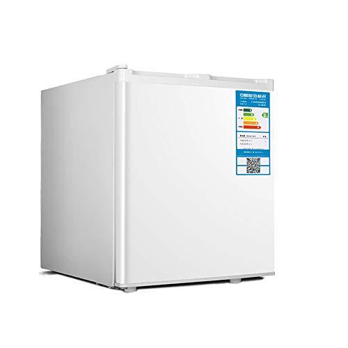 KKDWJ Mini-réfrigérateur de Table avec Compartiment congélateur, réfrigérateur de Mise en sourdine économique pour Chambres à Coucher avec Rangement pour Porte réversible