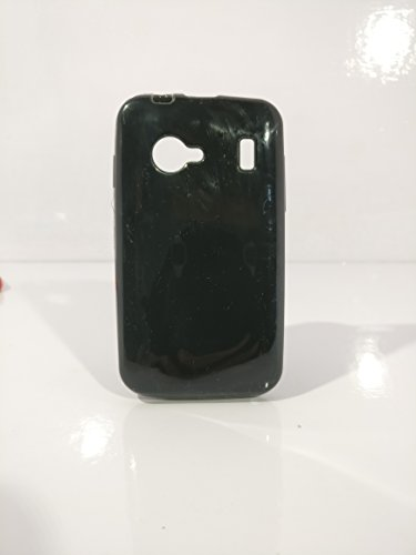 iCandy™ Colorfull Thin Soft TPU Back Cover For Karbonn Smart Lite A51 - Black  available at amazon for Rs.109